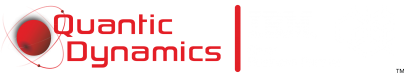 Quantic Dynamics IBM Silver Business Partner Logo 1.0 White